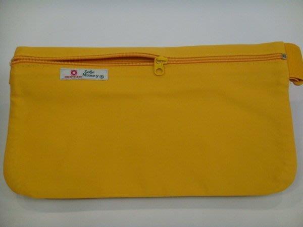 【IMAGEDUCK】M3741-(特價拍品)隱藏式旅遊貼身腰包,護照包(黃色)100元 促銷商品