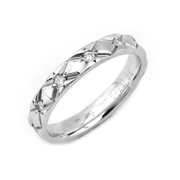 【JHT 金宏總珠寶/GIA鑽石專賣】CHANEL 鑽戒/材質:PT950(JB24-A07)