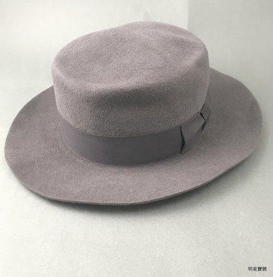 [我是寶琪] UNUSED 灰色兔毛帽子