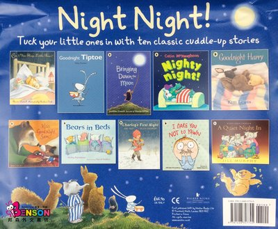 [邦森外文書] Night Night Picture Book Collection - 10 Books 繪本套書