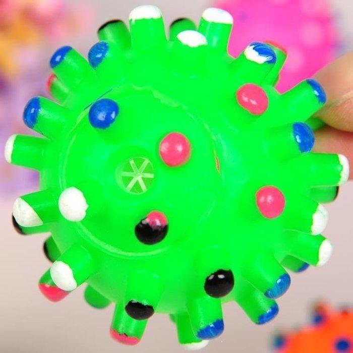 YEAHSHOP 寵物玩具泰迪狗狗發聲橡膠玩具磨芽健齒耐咬Y185