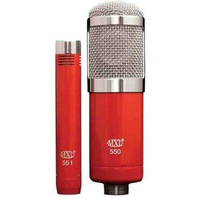 【WowLook】MXL 550/551R 電容式麥克風 套裝 MXL550 MXL990 770
