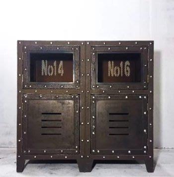 【曙muse】復古收納櫃保險箱櫃( 限量1個 )