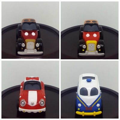 【多美 Tomica】 扭蛋10th ANNIVERSARY DISNEY MOTORS  PULL BACK RACERS  十週年迪士尼汽車迴力車 全4款