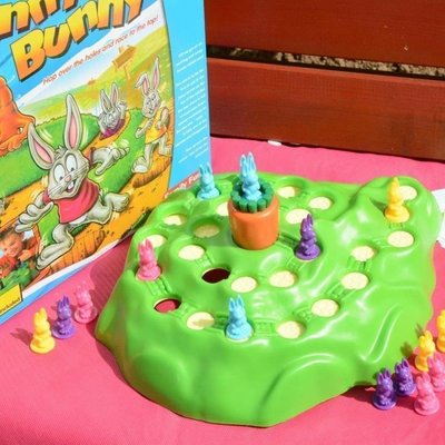 現貨/兔子越野賽 兒童益智賽跑棋 親子智力桌面游戲小孩玩具 3歲以上/海淘吧F56LO 促銷價