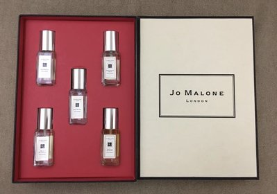 JO MALONE早期已絕版故事書系列5入9ml(柚子、黑石榴、藍風鈴、玫瑰、香草與茴香)二手、少用
