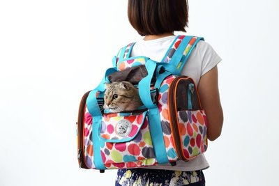 PARTY-FIVE  迷你  三合一寵物外出後背包/可後背,側背,手提寵物包