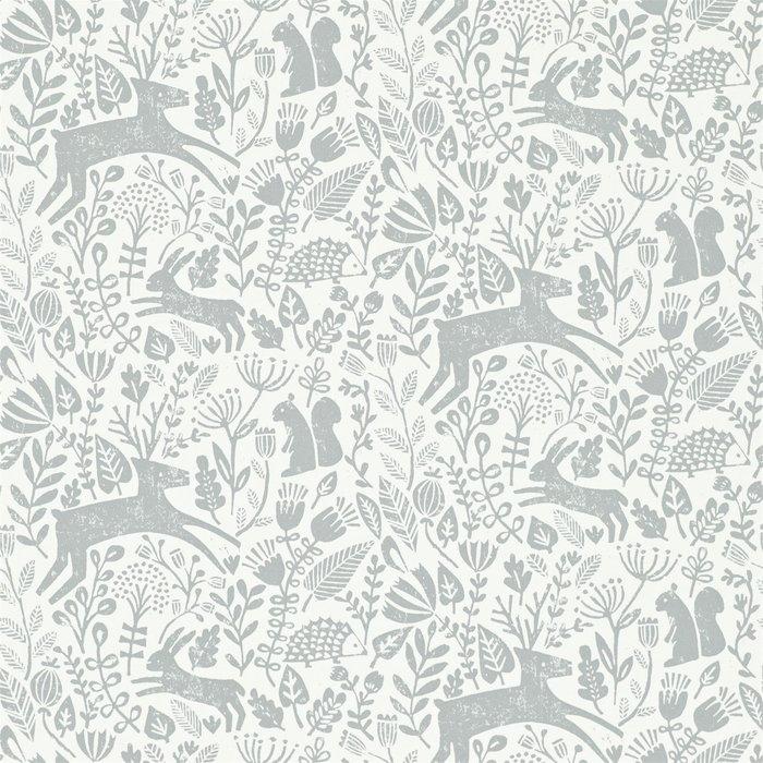 【Uluru】英國期貨壁紙.北歐簡約 KELDA (5色) 動物 森林 春天 壁紙 ES106系列