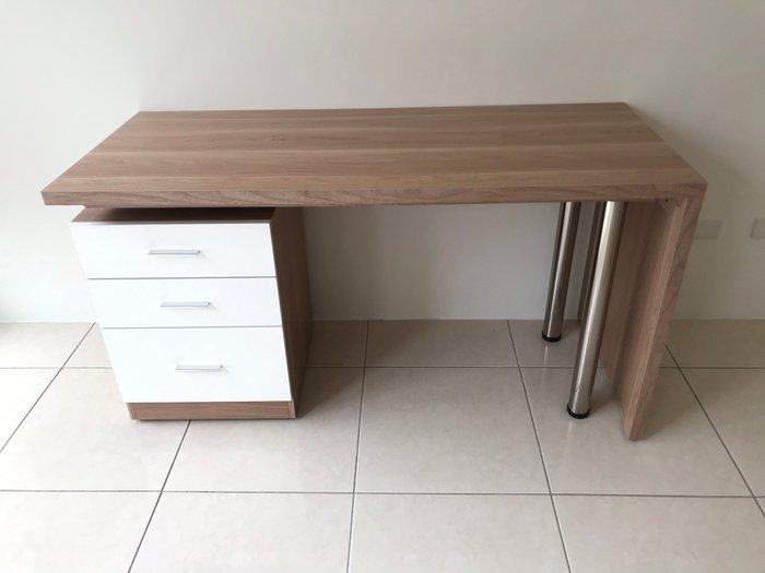 大慶二手家具 新品艾美北歐4.8尺旋轉功能桌/閱讀桌/寫字桌/電腦桌/書桌/工作桌