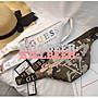 KillBeer:美國代購✈✈新款歐美復古GUESS彩虹白/迷彩粉腰包胸包側背包 現貨在台082718