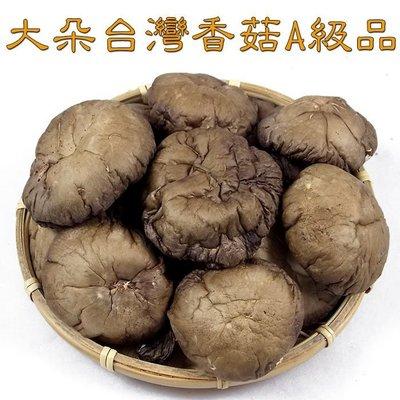 ~大朵台灣香菇(半斤裝)A級品~ 黑皮香菇,黑早品種,肉厚實味道香,品質好,漂亮又好吃,送禮自用兩相宜。【豐產香菇行】