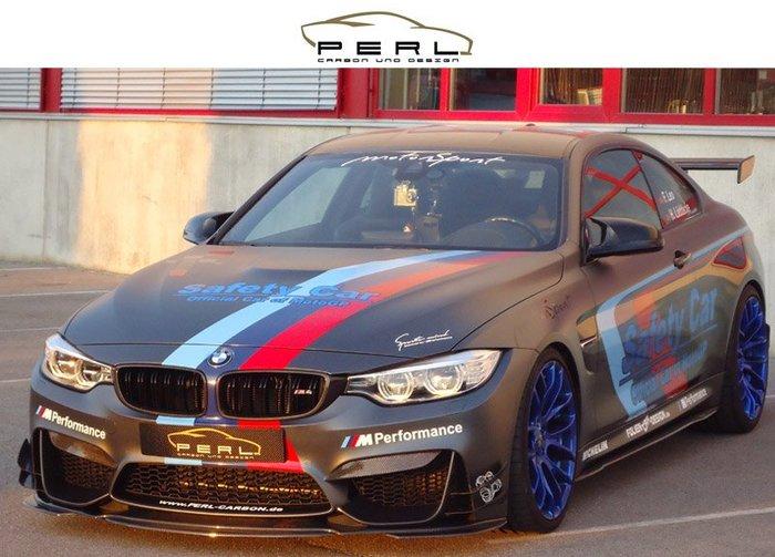 【樂駒】Perl Carbon Design BMW F80 M3 F82 M4 DTM 碳纖維 前保飾條 進氣壩 側翼