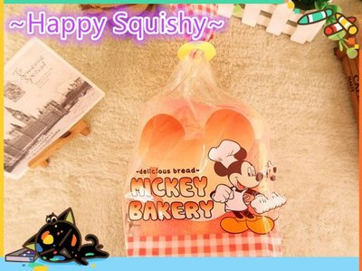 ~Happy Squishy~ 海外版 日本原單 迪士尼米奇大吐司 Squishy /軟軟/減壓玩具