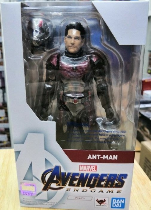 全新 SHF Marvel 復仇者聯盟 終局之戰 Avengers 蟻人 Ant man