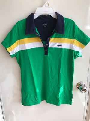 正品mingle 巴西國旗配色 彈性舒適運動polo衫