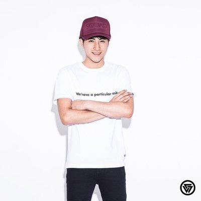 (MARVELOUS) SQUAD 2016 New Logo Slogan T-Shirt 新銳電繡標語 白色