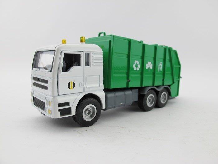 【阿LIN】121AAB 5012 合金工程車 資源回收車 1:50 Scale HY TRUCK