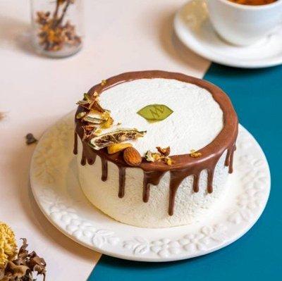 【甜野新星-甜點專賣店】母親節蛋糕 生日蛋糕 - 〈生酮〉5吋生巧夾心蛋糕