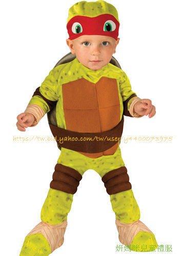 妍媽咪兒童禮服出租~Halloween 忍者龜拉斐爾小童肌肉造型服~萬聖節遊行