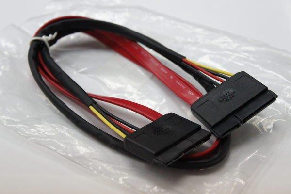 光華CUMA散熱精品*SATA+POWER 外接線材~供2.5、3.5吋SATA 硬碟外接專用~現貨