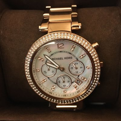 MK5491玫瑰金腕錶