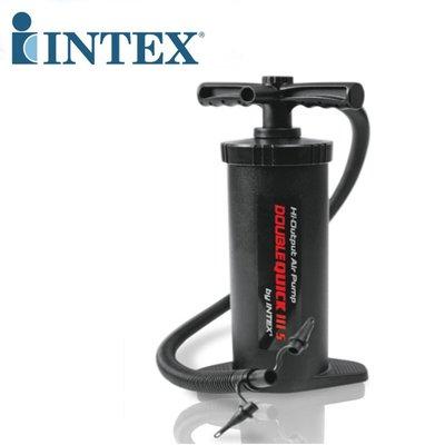 美國INTEX 68605 快速手動氣泵 打氣筒 充氣筒