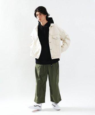 【二手】YU SELECT-優選 GRAMICCI×FREAKS STORE M號軍綠色寬版腰帶尼龍長褲