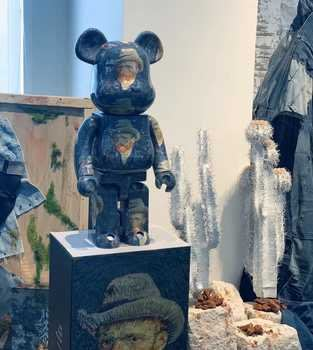 【日貨代購CITY】BE@RBRICK Van Gogh Museum 梵谷自畫像 100% 400% 庫柏力克熊 現貨