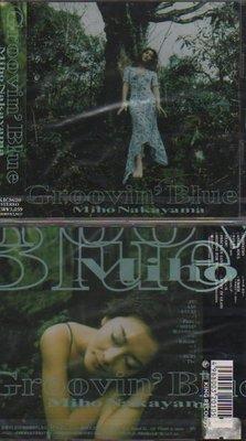 中山美穗 GROOVIN` BLUE 日本進口CD - 含郵資特價670元(只有一張)