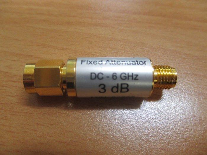 康榮科技二手儀器領導廠商Fixed Attenuator 3dB DC-6GHz 50Ω 衰減器