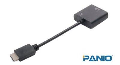 HDMI 轉VGA+Audio訊號轉換線/器《✤PANIO國瑭資訊》CHV12