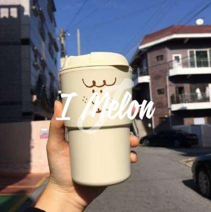 ::: i-MelOn :::100%韓國空運 正韓【現貨】大田Moonbanggu咖啡廳隨身瓶350mL※耐熱110度