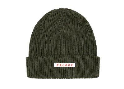 【希望商店】⸨✔寄賣商品⸩ PALACE SPACED BEANIE logo 反折 毛帽