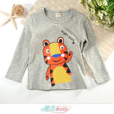 童裝 秋冬厚款柔棉長袖T恤 魔法Baby k61174