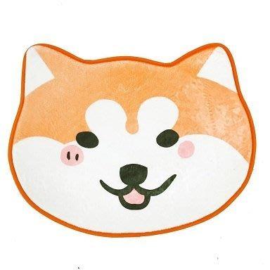 《現貨》日本柴犬造型狗狗法蘭絨防滑止滑腳踏墊地墊