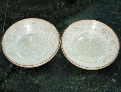古早味 古董 昭和硬質陶磁器。。2個一起賣