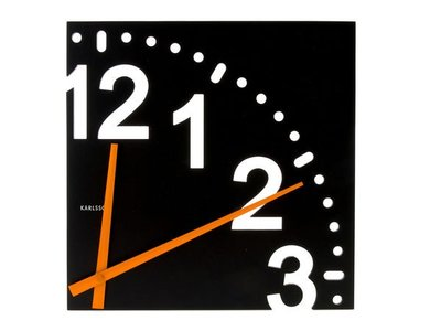 KARLSSON -四分之一鐘/時鐘/壁鐘/掛鐘(設計師最愛)《歐型精品館》