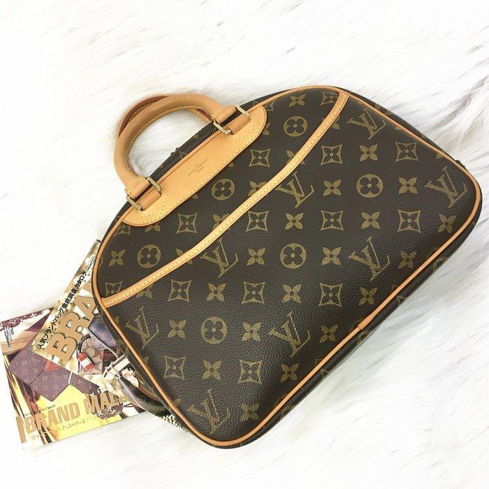 二手旗艦 LOUIS VUITTON LV M42228 經典 字紋 小珍包 手提包(公益店)26801
