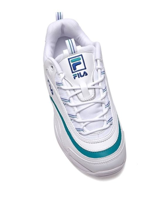 【Luxury】韓國代購 FILA RAY FOLDER 聯名款 黃 綠 紫 三色 厚底 增高 老爹鞋 復古白鞋 休閒鞋