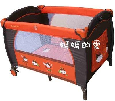 [ 家事達 ] 台灣KC- Mother's Love 83061動物單層遊戲床 嬰兒床 特價