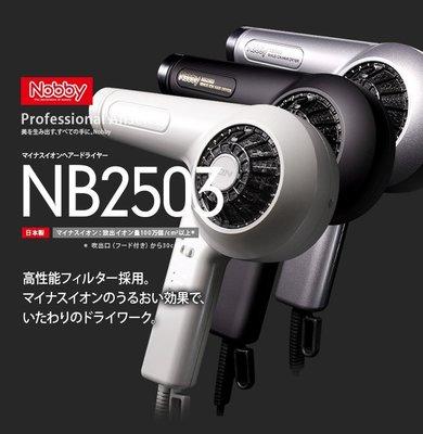 尼德斯Nydus~* 日本 TESCOM 美容沙龍級 專用吹風機 Nobby NB2503 負離子 高性能濾網 日本製