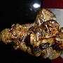 精品 漂亮 美石 年糕玉 雕件 鍾馗 大顆料 本土玉石