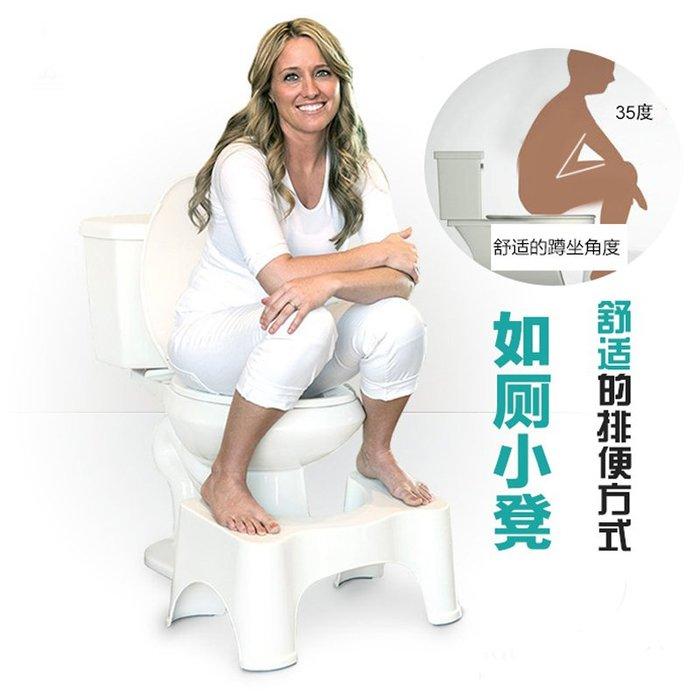 福福百貨~凳墊坐便器腳蹬蹲坑如廁腳踏防滑衛生間塑料馬桶腳凳板凳蹲架~