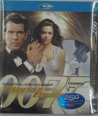 【藍光電影】007黑日危機 The World Is Not Enough(原盤) 10-003