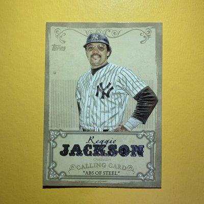 Reggie Jackson 2013 Topps Calling Card 漂亮特卡