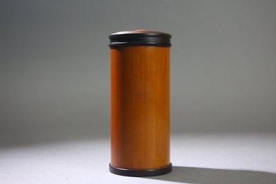 悅年堂 --- 老 竹 隨身 攜帶式 茶葉罐