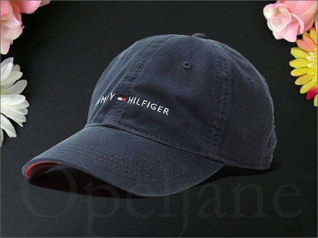 真品 Tommy Hilfiger Hat 深藍色 棒球帽 遮陽帽 高爾夫球帽可調整帽圍防曬防紫外線 愛Coach包包