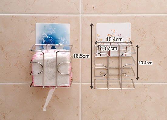 ☆成志金屬☆免鑽孔』S-80-4T 304不鏽鋼方形衛生紙架、餐巾紙架,民宿餐廳皆宜