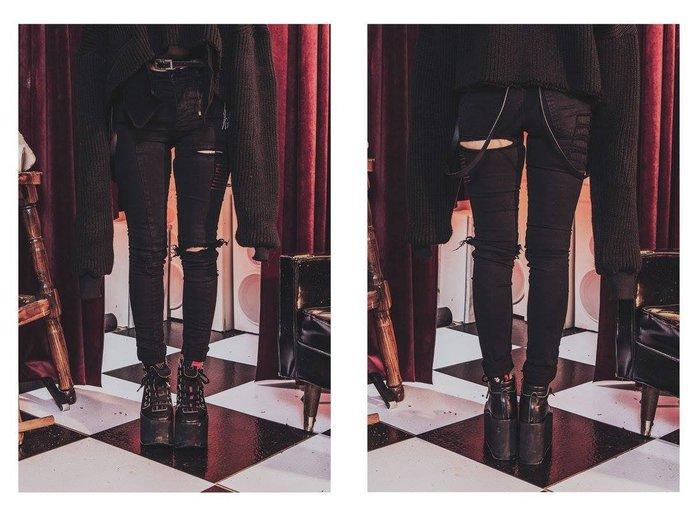 美國東村【NU by SlightlyNumb】REDROTIC PANT