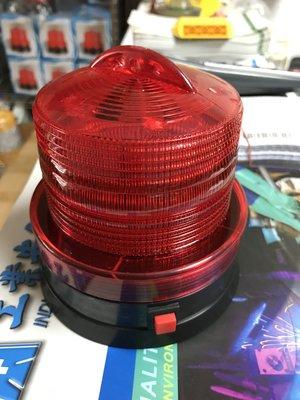 蘋果燈 [8cm強力磁鐵.高亮度]磁吸電池警示燈 磁吸爆閃警示燈 磁吸閃光警示燈 磁吸哈雷燈 磁吸LED燈 蜜蜂燈